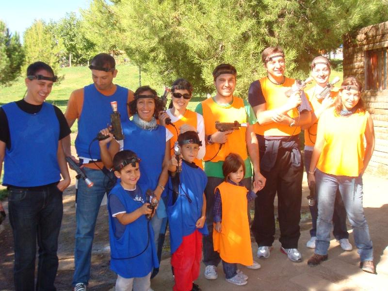 Laberinto Láser Tag Madrid Parque Europa