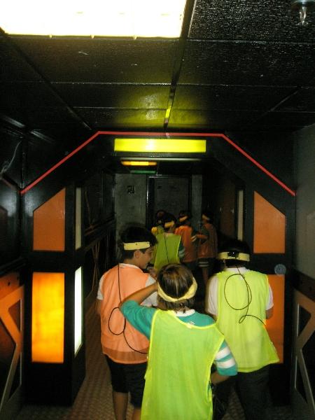 Laberinto Láser Tag Indoor Madrid
