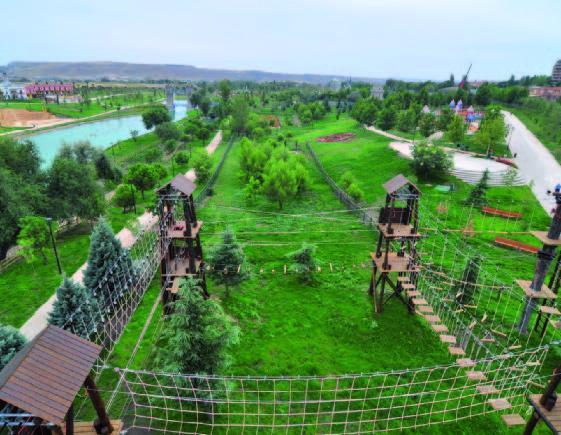 Instalaciones Parque Europa Multiaventura Park Madrid