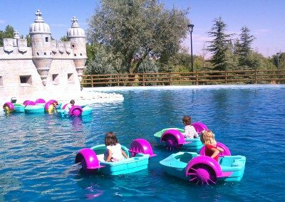 barcas infantiles parque europa cumpleaños colegios