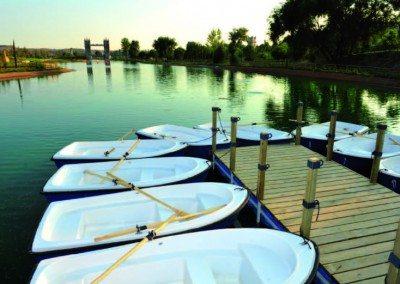 madrid parque europa barcas remo lago empresas cumpleaños colegios