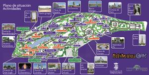 Plano de Monumentos y nuestras actividades en el Parque Europa