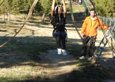 Rocódromo y tirolina Parque Europa