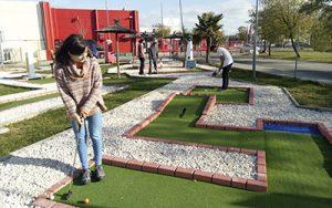 Minigolf en Madrid Las Rozas