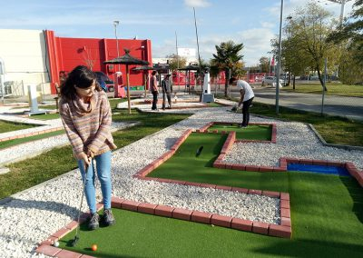 Minigolf empresas madrid multiaventura park team building
