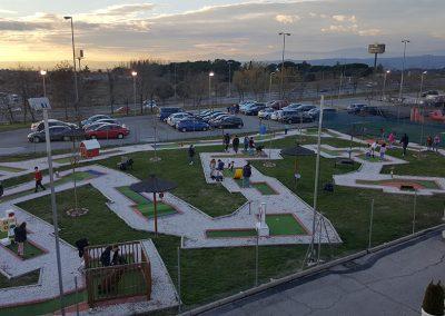 Minigolf madrid multiaventura park cumpleaños colegios empresas karting las rozas
