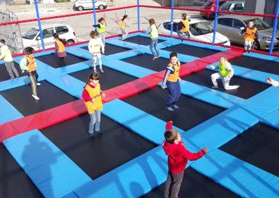 Dodgeball Cumpleaños Parque Europa Madrid multiaventura park