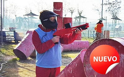 Soft Paintball para niños en Madrid