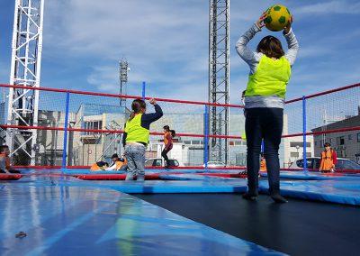 Dodgeball Madrid Cumpleaños Empresas Colegios Rozas Karting Camas Elásticas